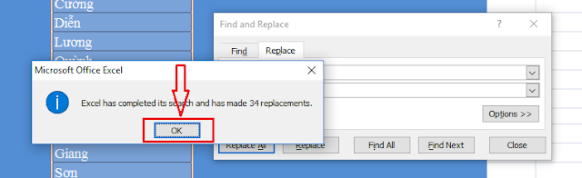 Tách họ và tên trong Excel - H03