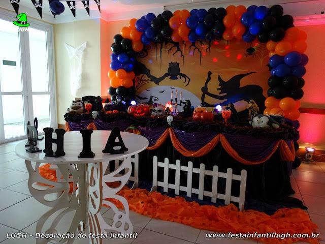 Decoração infantil Halloween - Tradicional Luxo