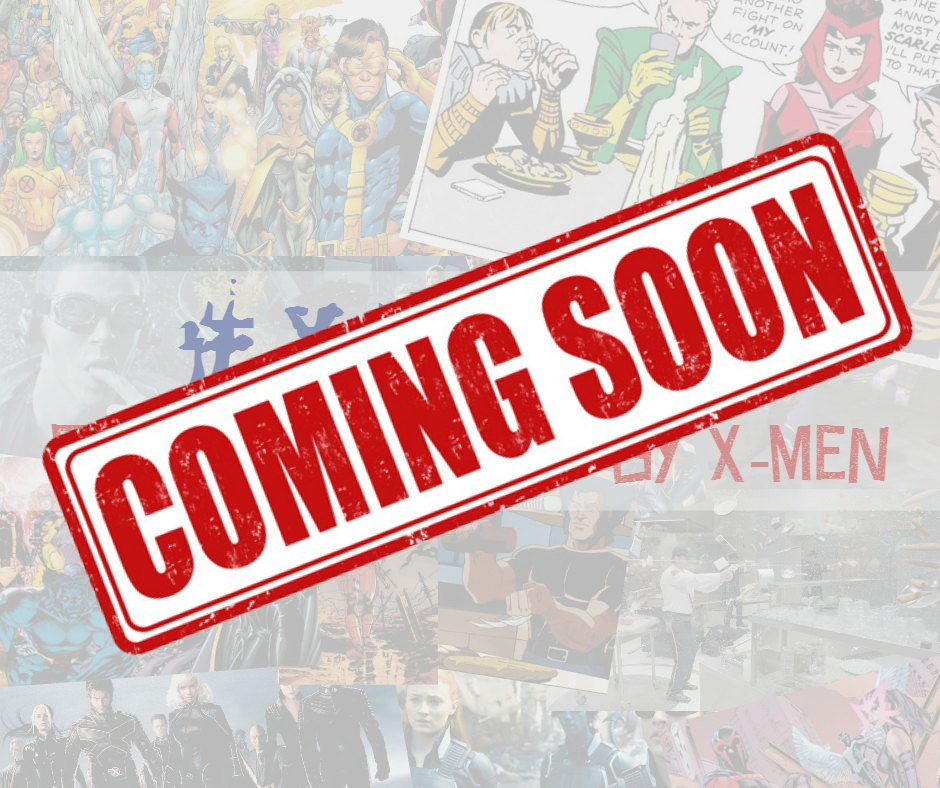 Coming soon: #XMenu with #FandomFoodies via @foodnflixclub