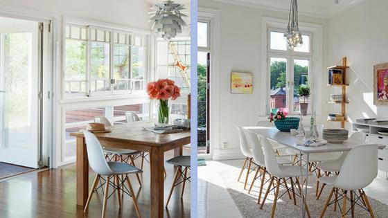 Dica do dia: Decoração com Cadeiras Charles Eames
