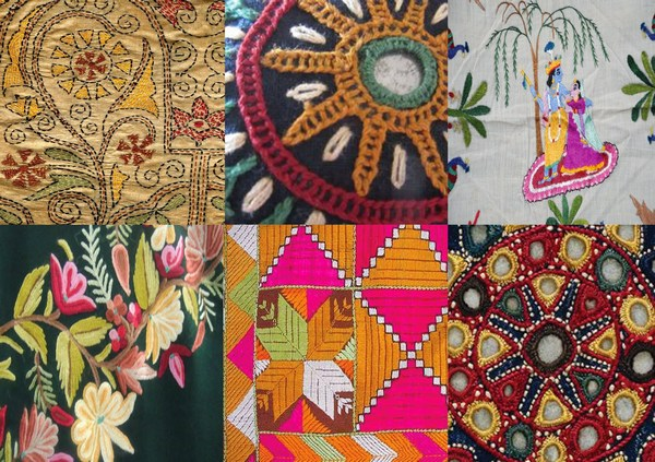 Fabric surface embellishments