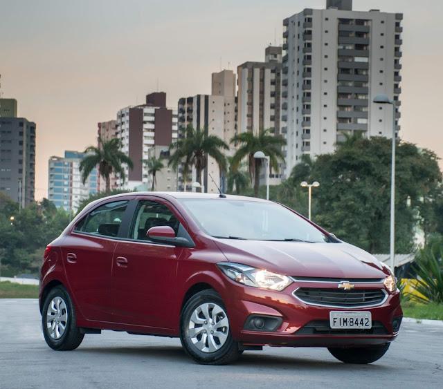 Os 15 hatch's compactos mais vendidos no Brasil - Jul/2018