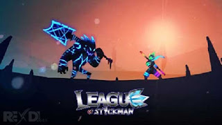 تنزيل لعبة league of stickman مهكرة