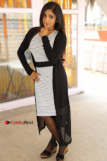 Telugu Actress Karunya Chowdary Stills in Black Dress at Soda Goli Soda Movie Opening  0248.JPG