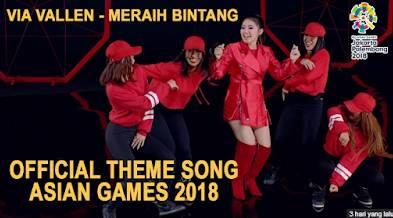 lagu via vallen meraih bintang official asian games 2018