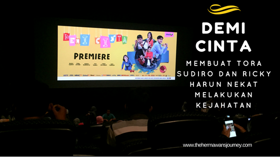 film demi cinta, thriller film demi cinta, review film demi cinta, film komesi 2017, film indonesia