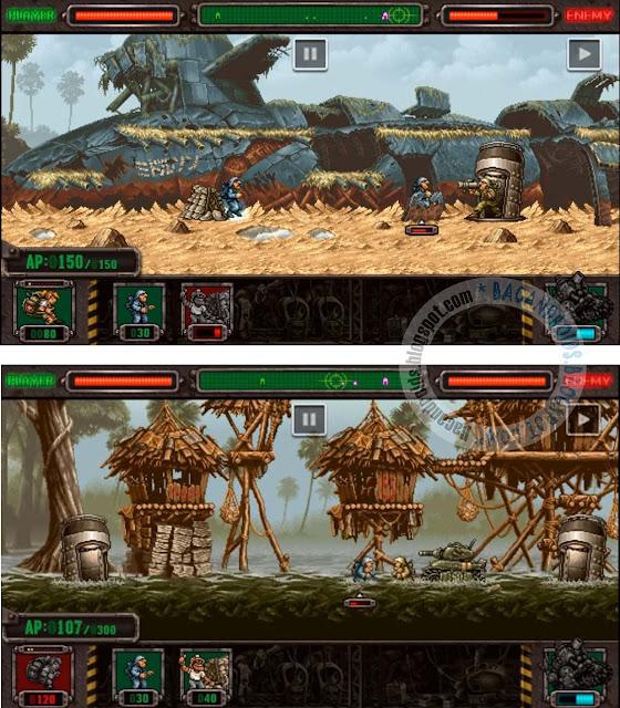 Game Metal Slug Defense free download