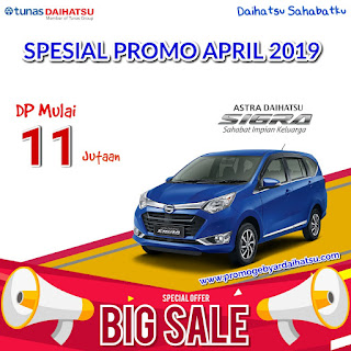 Promo Daihatsu Sigra Dp Murah April 2019