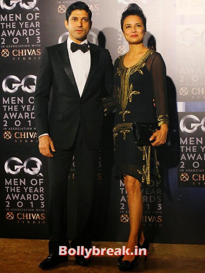 Farhan Akhtar and Adhuna Akhtar, The most stylish couples of 2013
