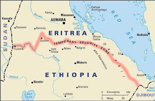 Eritrea withdraws troops from border