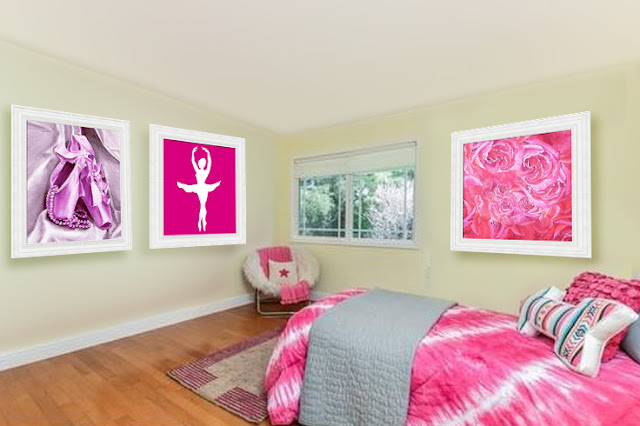 art for girl room