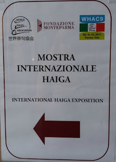 Haiga exhibition - Parma