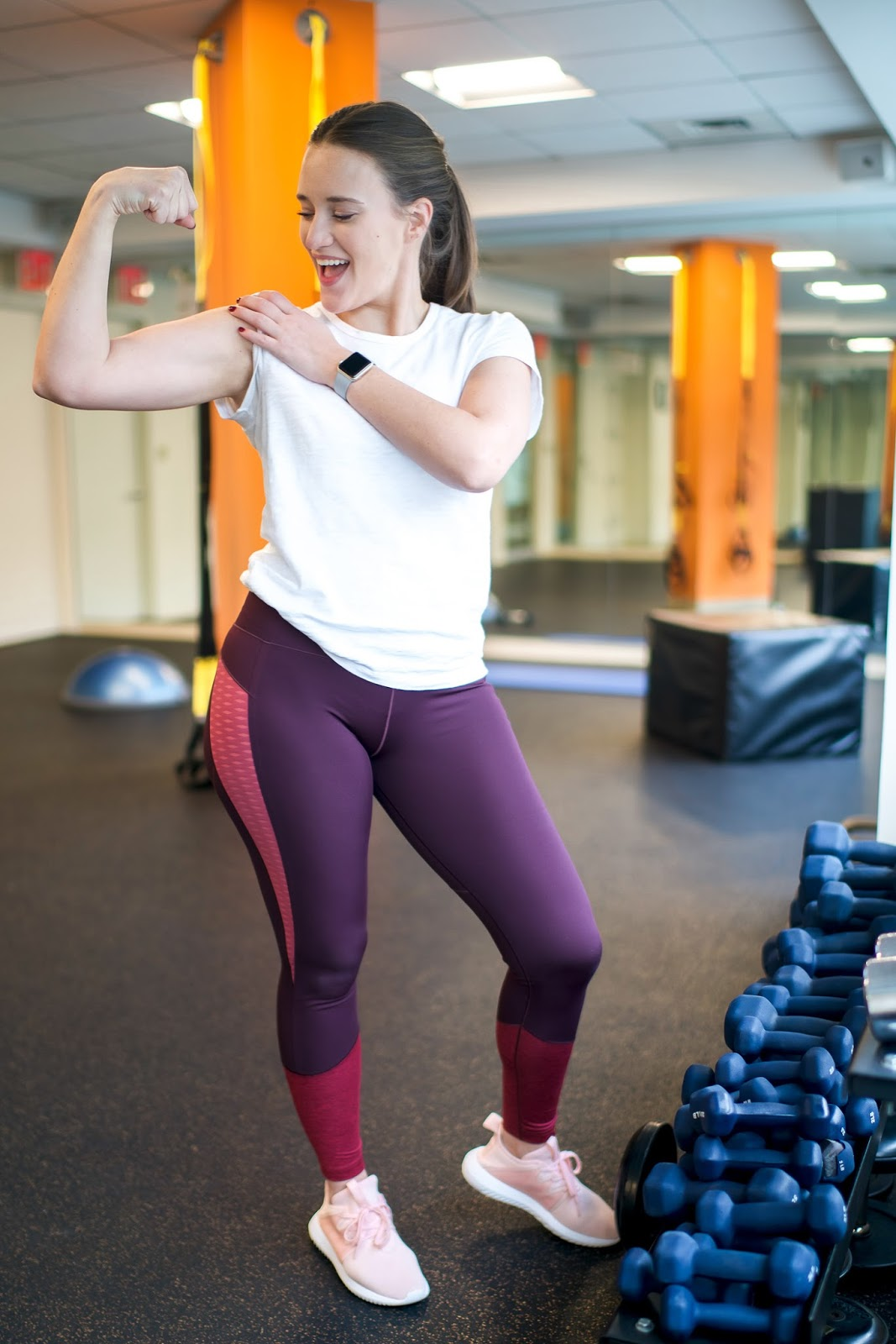 All About Work Out Motivation by popular New York lifestyle blogger Covering the Bases