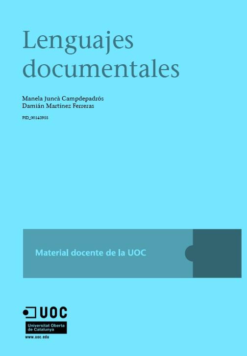 Lenguajes documentales I – UOC