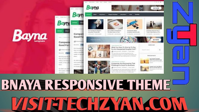 Bayna SEOFriendly And Responsive Blogger Template