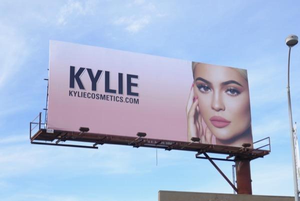 Kylie Cosmetics January 2019 billboard