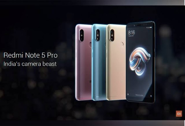 (Lowest Ever) Amazon – Buy Xiaomi Redmi Note 5 Pro 4GB/6GB Ram at Rs 10,999/12,999 Only