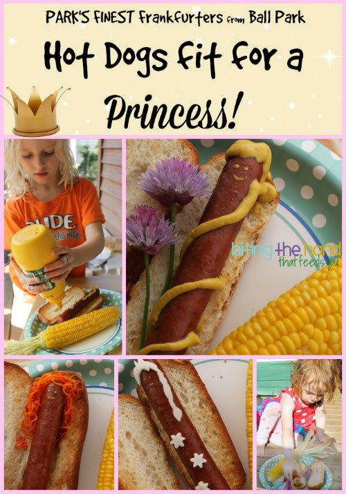 Easy Summer Dishes Fit for a Princess! With Park's Finest Frankfurters from Ball Park