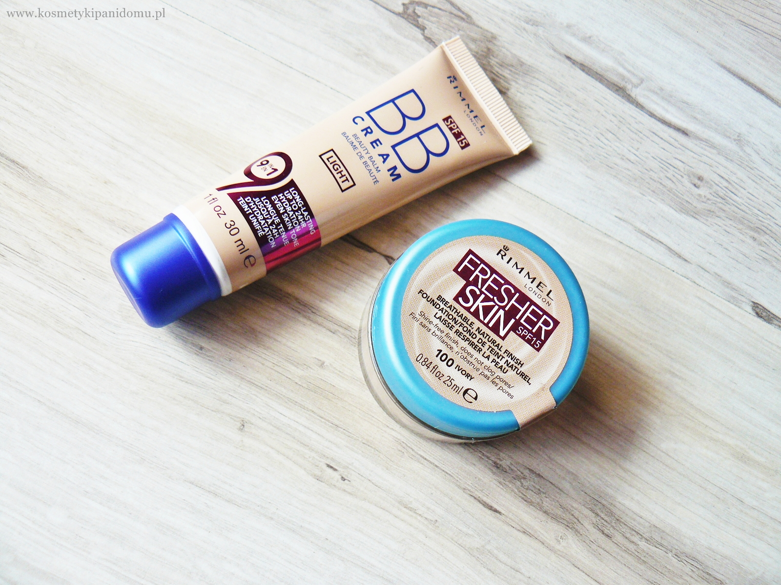 RIMMEL. FRESHER CREAM CZY BB CREAM?