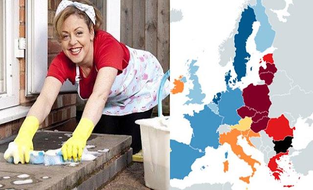Το 69% των Ελλήνων συμφωνεί ότι η θέση της γυναίκας είναι στο σπίτι