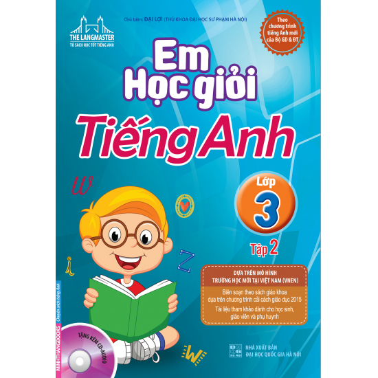 Em học giỏi tiếng anh lớp 3, 4, 5 (Tập 1, Tập 2) - PDF Bản đẹp