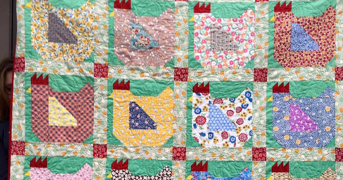 klein meisje quilts chickensa quilt for Janna