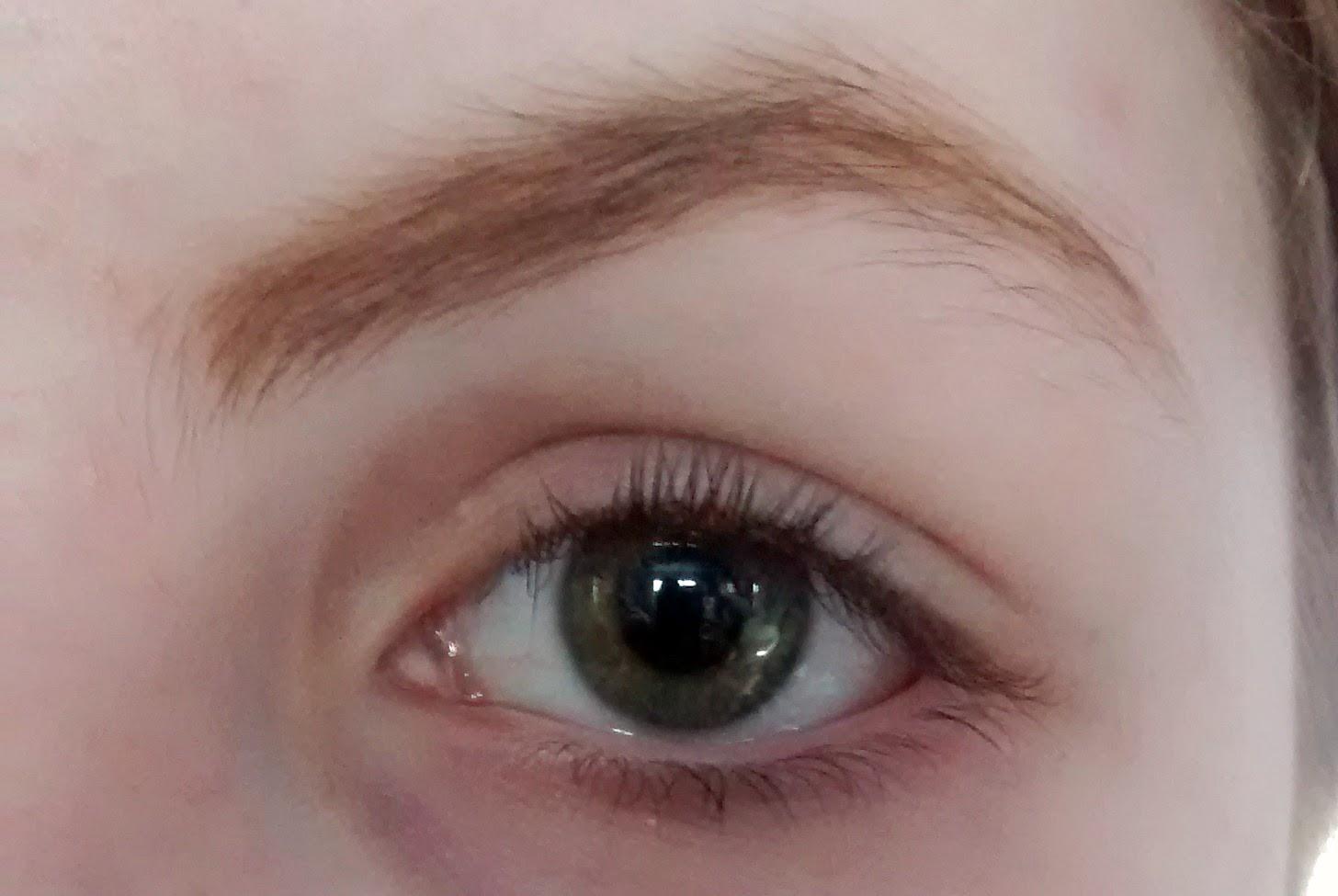 Curled Eyelashes