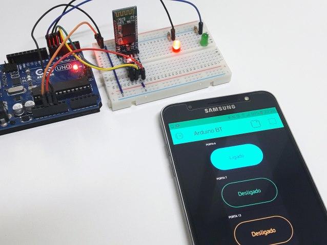 Use o Blynk para controlar o Arduino via bluetooth - Arduino e Cia