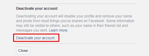cara vakum dari facebook