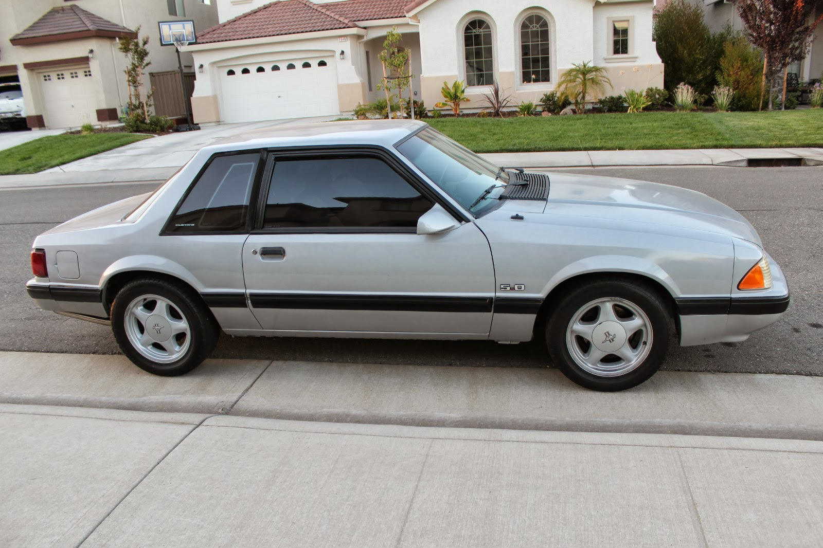 10k not another notch on the bed post 1987 ford mustang lx notchback