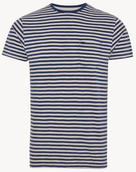 Primark online: camiseta a rayas marineras de Farrell