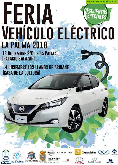 El Cabildo organiza la III Feria del Vehículo Eléctrico enmarcada en la 'Semana Smart' de La Palma