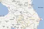 Mapa de la región del Cáucaso y sus repúblicas