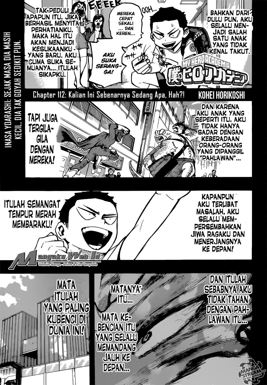 Boku no Hero Academia Chapter 112-2