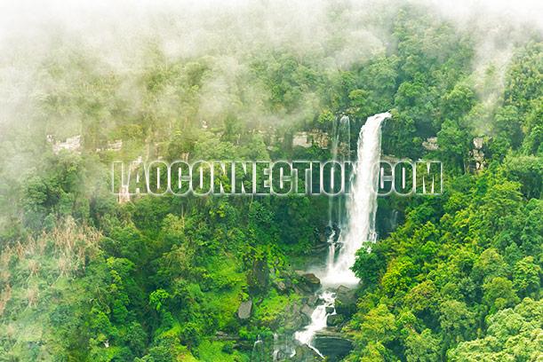Tat Seua Waterfall Champassak Laos