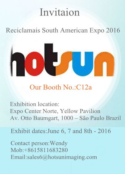 Welcome to visit Reciclamais South American Expo 2016 in Sao Paulo
