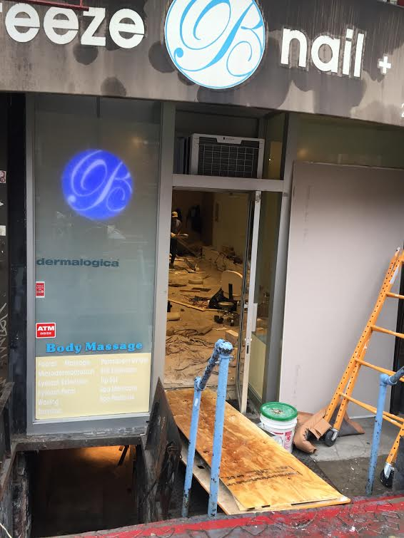 Ev grieve updated breeze nail spa closes for renovations for 2nd avenue salon