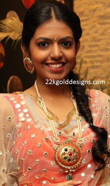 Rajashekar Daughter Shivani Jewellery