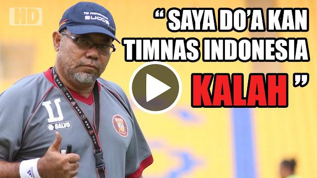 PARAH!! Iwan Setiawan Doakan Timnas Indonesia KALAH