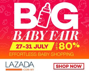 Dapatkan GOO.N Di Lazada Big Baby Fair