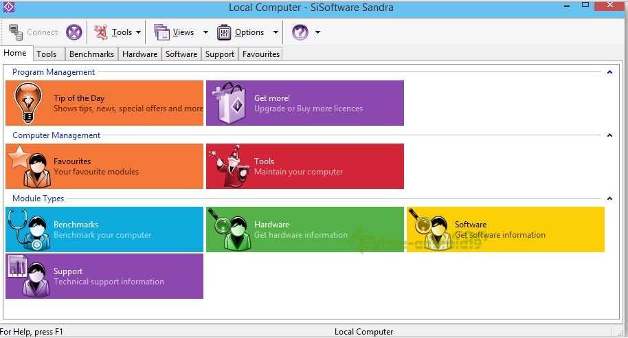 SiSoftware Sandra Business + Pro Full 2015.08.21.45