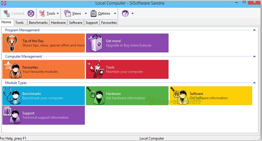 SiSoftware Sandra Business + Pro Full 2015.08.21.45