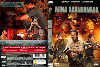 Filme Mina Abandonada DVD Capa