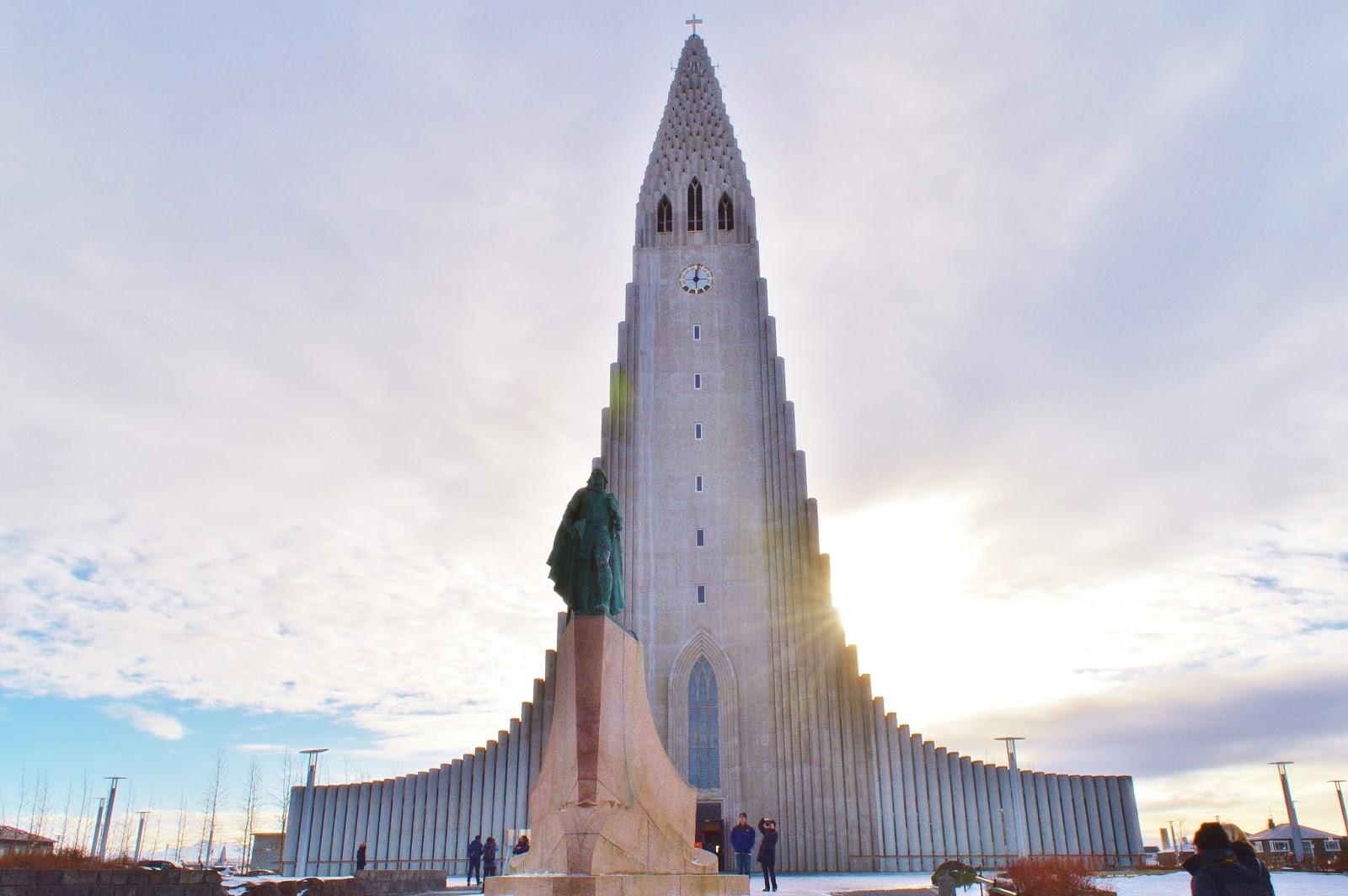 Hallsgrimskirkja - Reykjavik Iceland