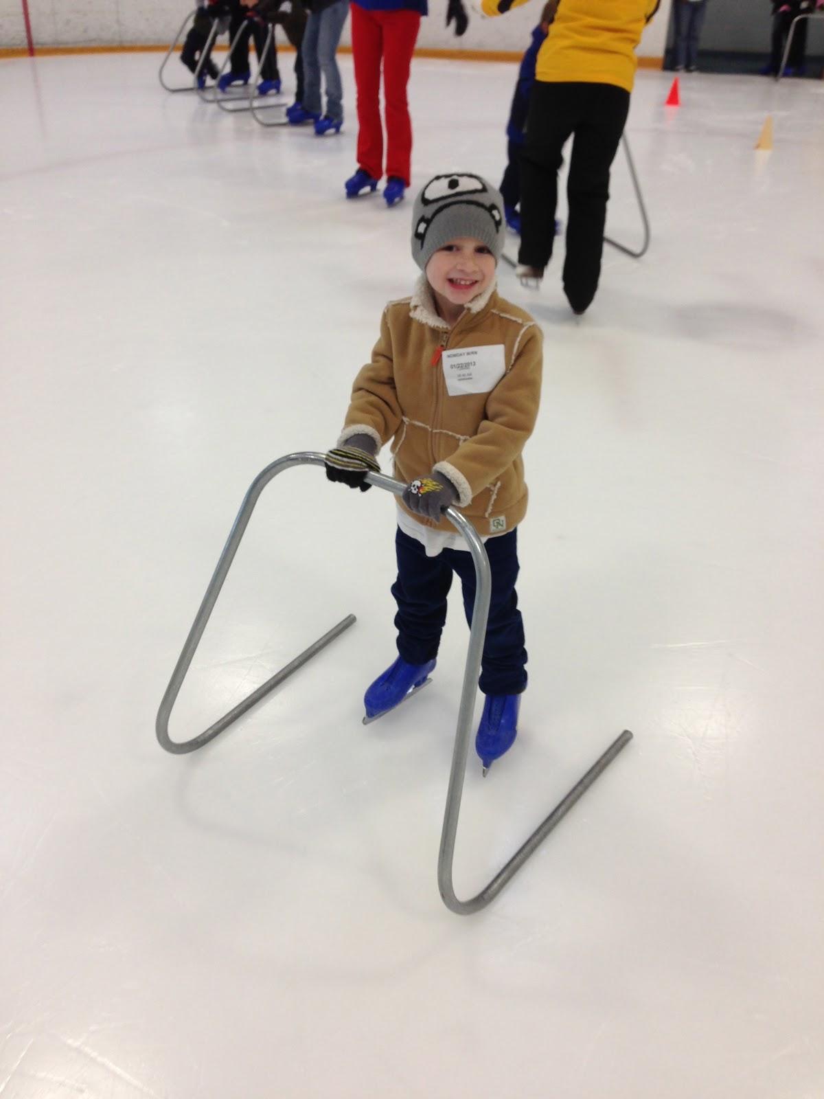 Jacob and Jackson: Master's Kids Ice Skating!