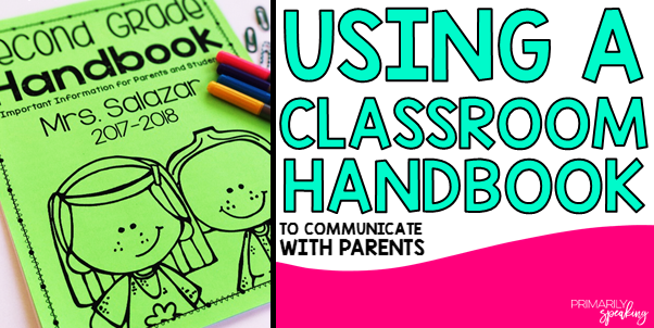 Using a handbook to communicate policies and procedures with parents