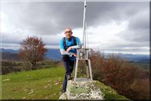 Estuñaga mendiaren gailurra 841 m. - 2017ko azaroaren 24an