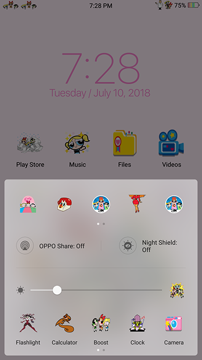 Oppo Theme: Oppo Powerpuff Girls Theme