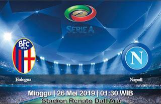 Prediksi Bologna vs Napoli 26 Mei 2019