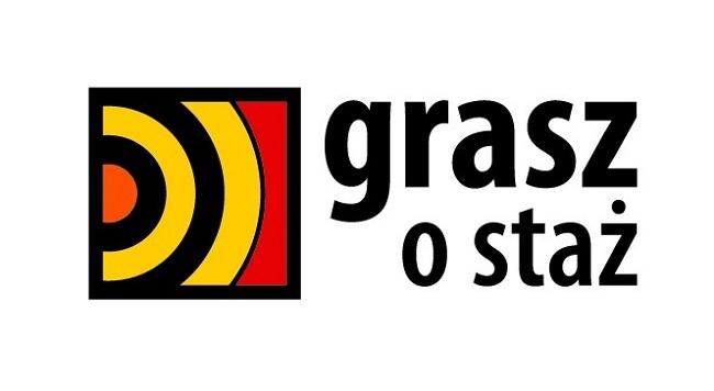 Logo konkursu Grasz o staż